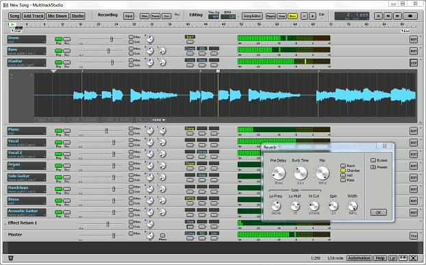 MultitrackStudio Lite full screenshot